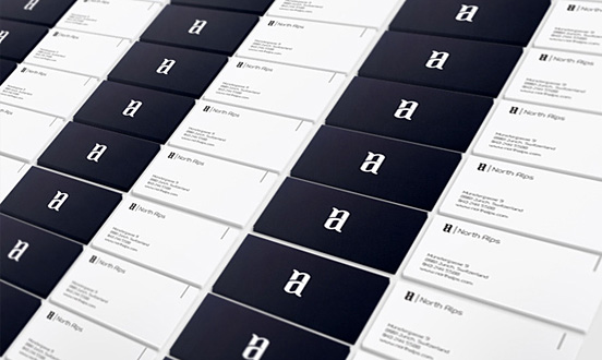North Alps Business Card