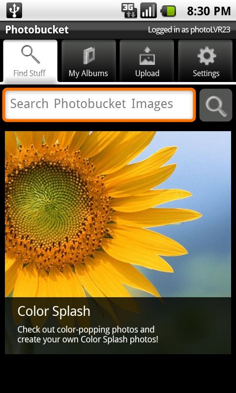 photobucket for android