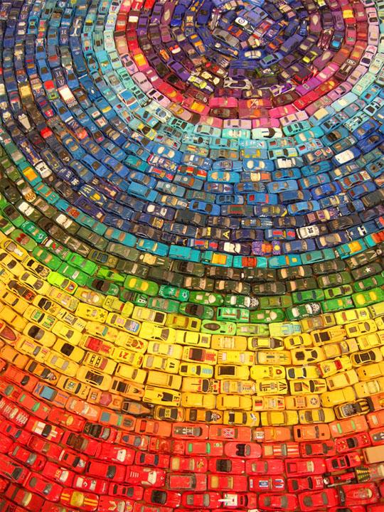 rainbow-car