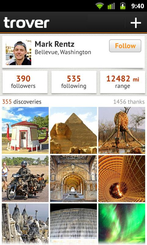 trover android