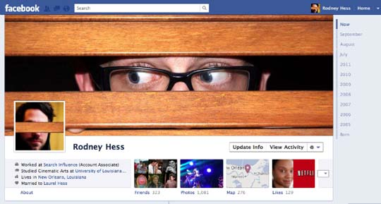 Photoshop Template For Creative Facebook Timeline Covers  Social