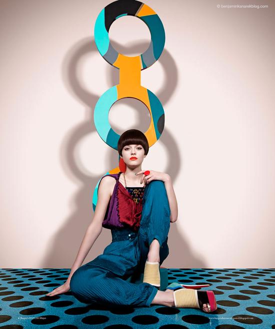 Amber Anderson photograph by Benjamin Kanarek-07
