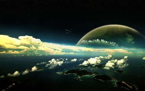 Atmosphere of Space