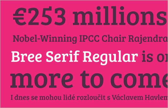 Bree Serif Regular