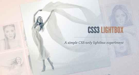 CSS3 Lightbox