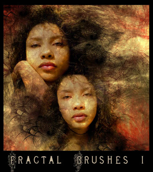 Fractal Brushes Set-20