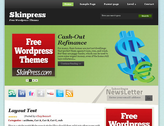 Money wp theme