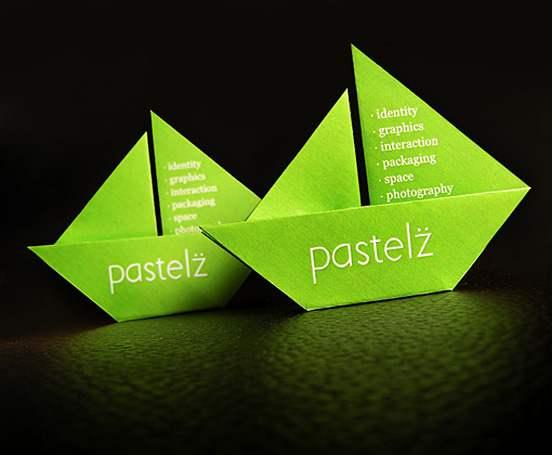 Pastelz Business Card