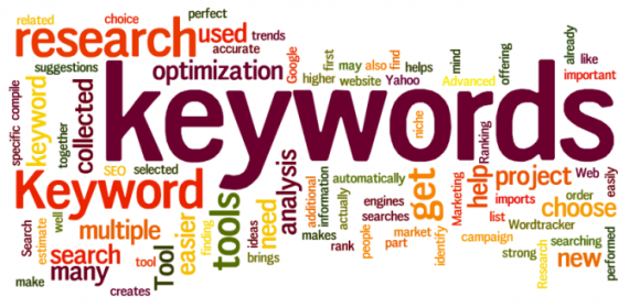 keywords in blogs
