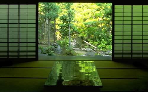 Tea In Green Garden