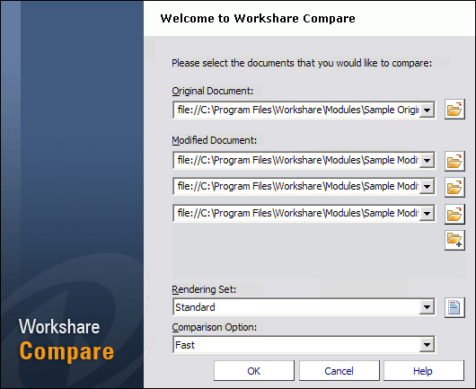 Workshare Compare