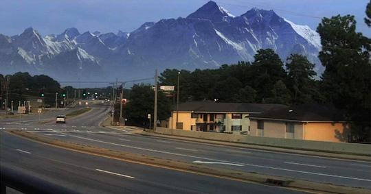 Photoshop Matte Painting Tutorial: Mountains