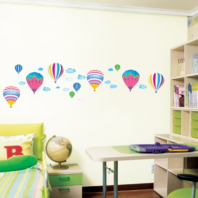 Air Balloon - Children's Wall Sticker