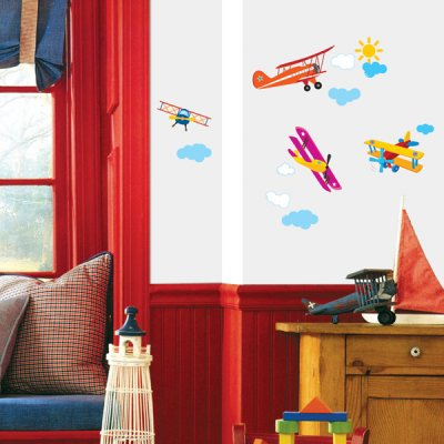 Aeroplanes - Children's Wall Sticker