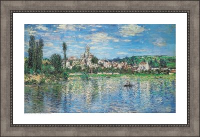 Vetheuil in Summer - Claude Monet (1840 - 1926)