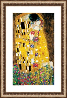The Kiss - Gustav Klimt (1862 - 1918)