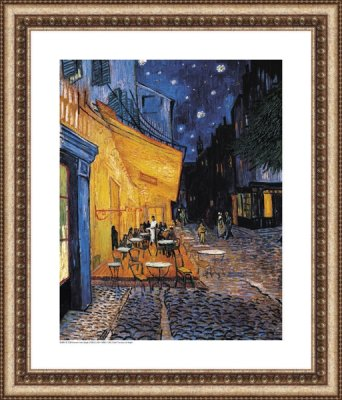 Cafe Terrace at Night - Vincent Van Gogh (1853 - 1890)