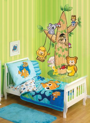 Animals Tree - Childrens Wall Sticker