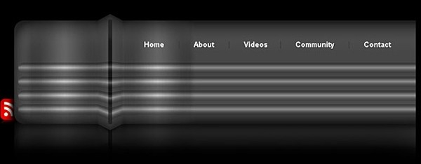 Metallic Header Design in Photoshop