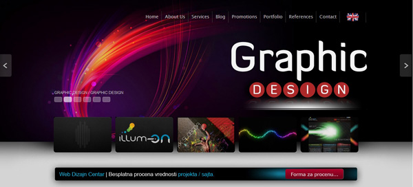 Web Dizajn Centar - Izrada