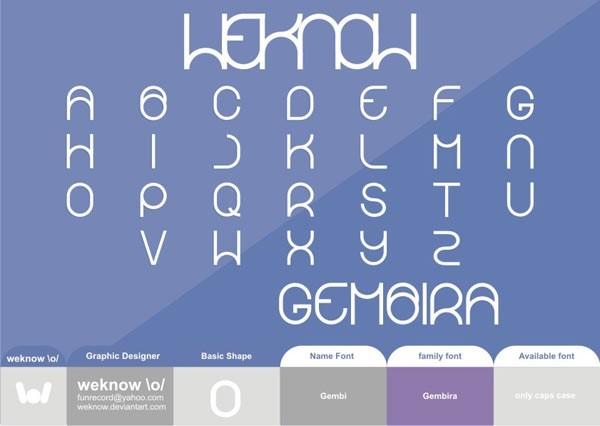 Gembira font