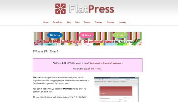 FlatPress