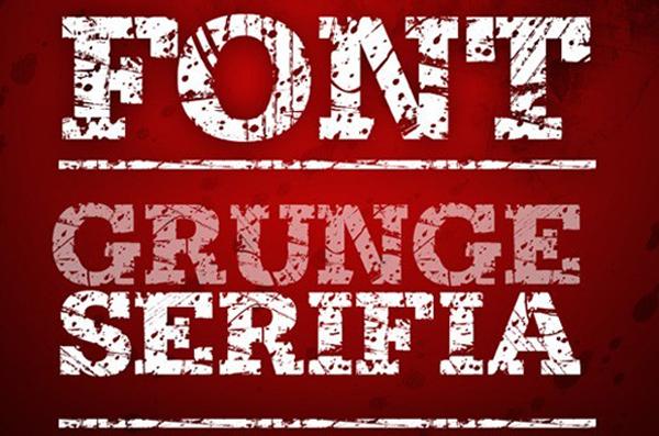 Grunge Serifia Font