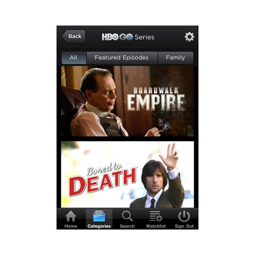 6. HBO Go
