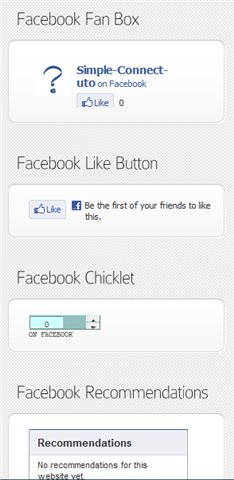 8. Simple Facebook Connect