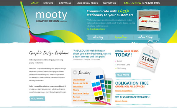 Mooty Graphic Design
