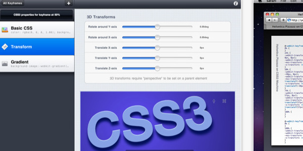 CSS3Machine