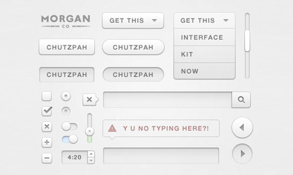 Chutzpah UI Kit