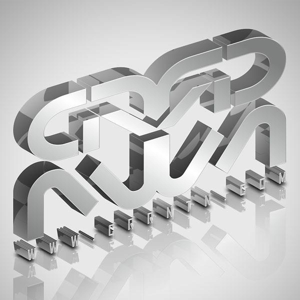 Create-Elegant-Glassy-3D-Typography-in-Photoshop-and-Illustrator