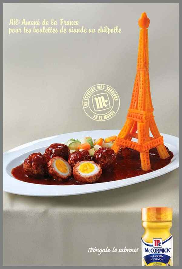 Eiffel Tower Garlic – MC
