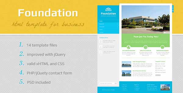 Foundation - HTML Template-5