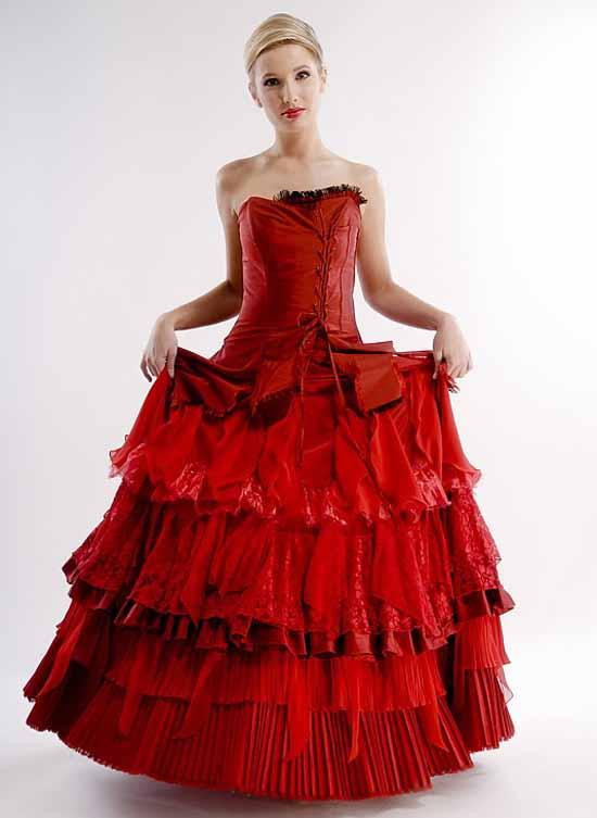 Girl in red dress-22
