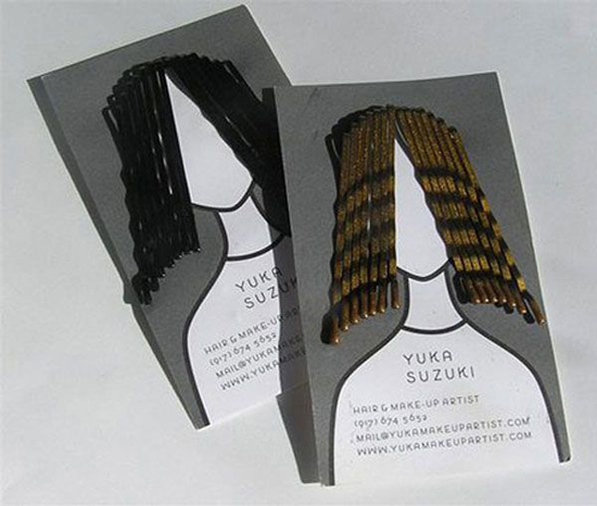 31 creative business cards that speak for the brand hair stylist colourmoves