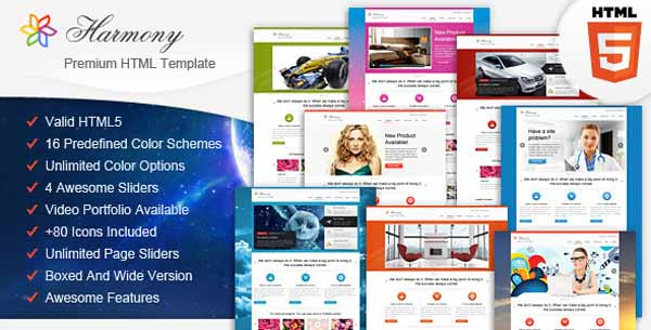 Harmony - Multipurpose HTML5 Template-3