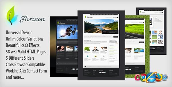 Horizon Premium xHTML Template-1