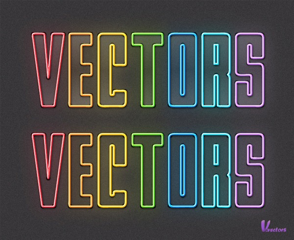 How-to-Create-Colorful-Neon-Text-with-Adobe-Illustrator