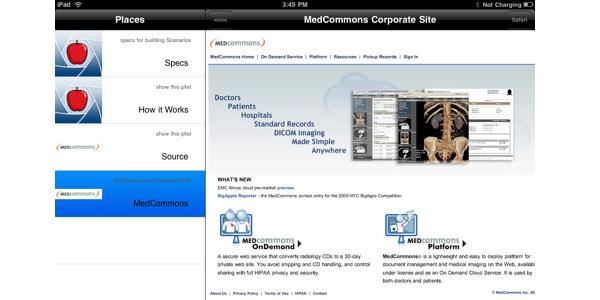 MedCommons Prototyper