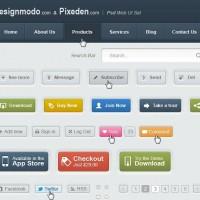 PSD Web UI Elements Kit