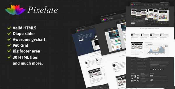 Pixelate corporate website template-2