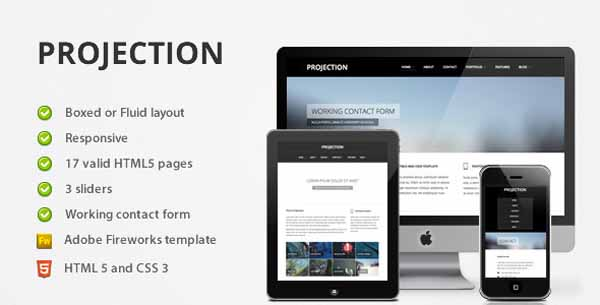 20 Free and Premium Corporate HTML/CSS Templates