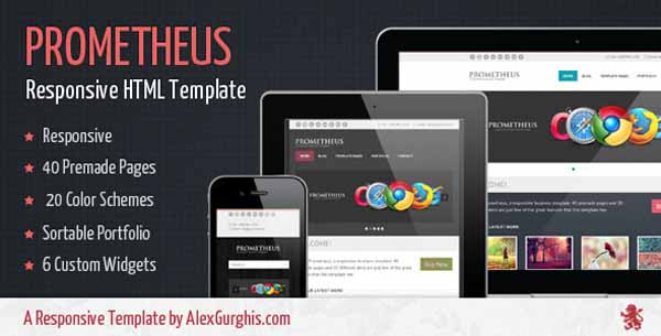 Prometheus - A Responsive Business Template-1