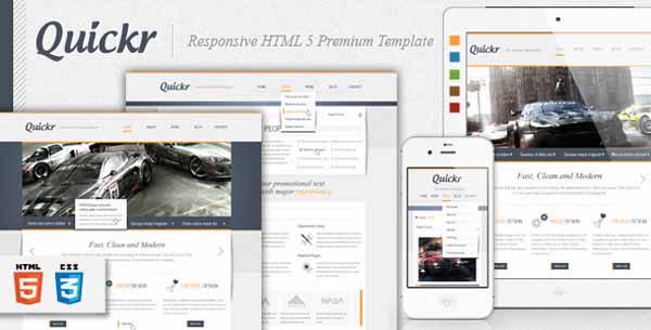Quickr - Responsive HTML 5 Premium Template-6
