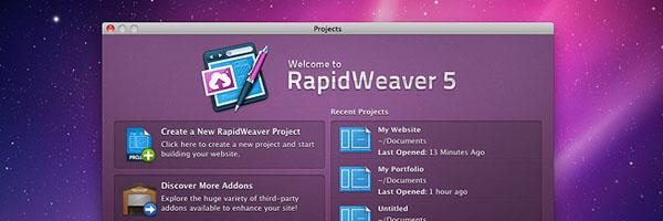 RapidWeaver 5