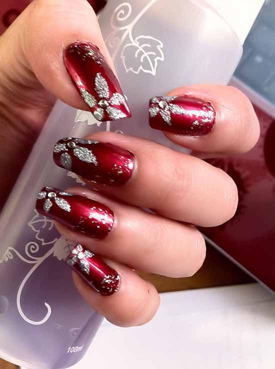 Red nail art-20