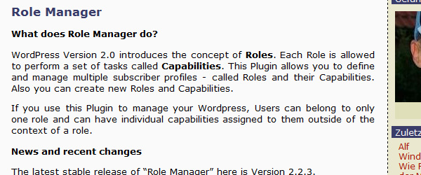 Role Manager