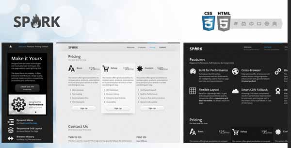 Spark - A Responsive One-Page HTML5 Website-6